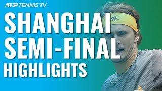Medvedev & Zverev Set Final Clash | Shanghai 2019 Semi Final Highlights