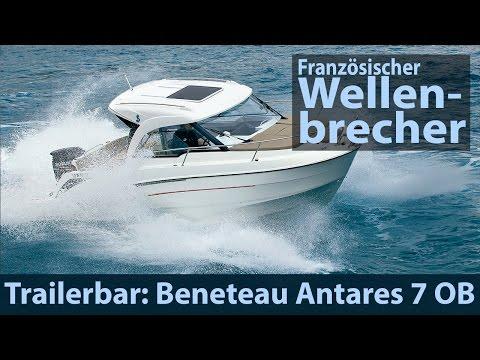 Beneteau Antares 7 OB | Test | Fahrbericht