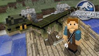 Dinosaurs In Minecraft - Dennis gets BIGGER! | Jurassic World - Ep2