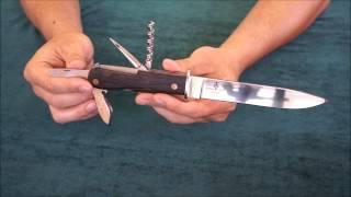 Нож Егерьский, включает мультитул(Оригинальный нож для туристов и всех, кто идет в лес. Нож можно купить здесь: http://russian-knife.ru/Netshop/catalogue/hunter-steel/hun..., 2013-06-26T11:51:52.000Z)