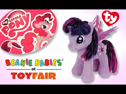 My Little Pony Plush Toys By Ty At The 2014 Ny Toy Fair Youtube