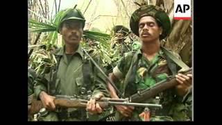 EAST TIMOR: MILITIA LEADER GUTERRES VISITS SUPPORTERS