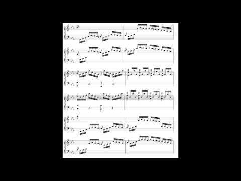 C.P.E. Bach - Solfeggietto, in the style of Glenn Gould