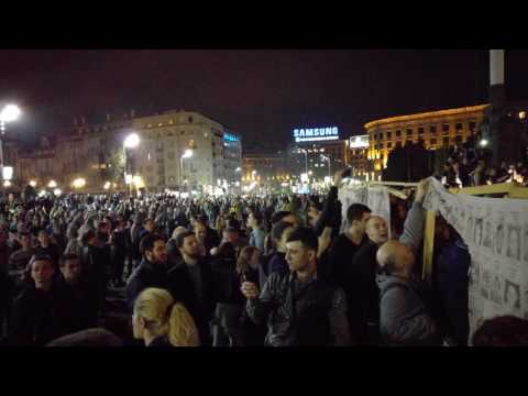 Post-Election Protest, Belgrade, Serbia