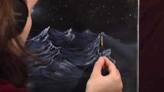 Midnight Mountain - Painting Lesson