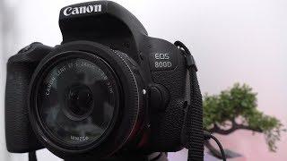 canon 800D (Canon T7i) Кэнон 800Д обзор фото и видео в практике