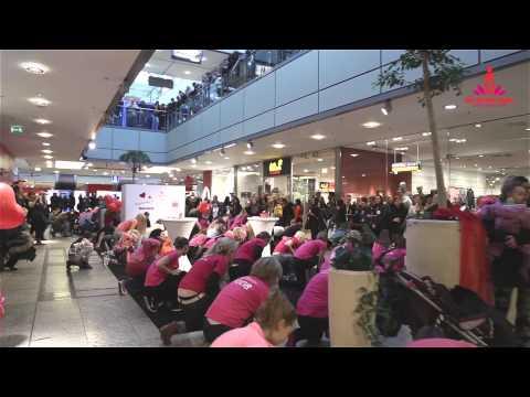 """""""One Billion Rising"""" Flashmob MAGDEBURG 14.02.2015"""