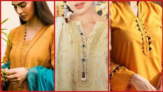 Top Trendy 2021 Cutwork And Different Trendy Neck Designs Detailing Ideas Tips
