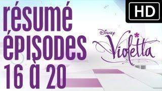 Violetta - Résumé épisodes 16 à 20 Sur Disney Channel