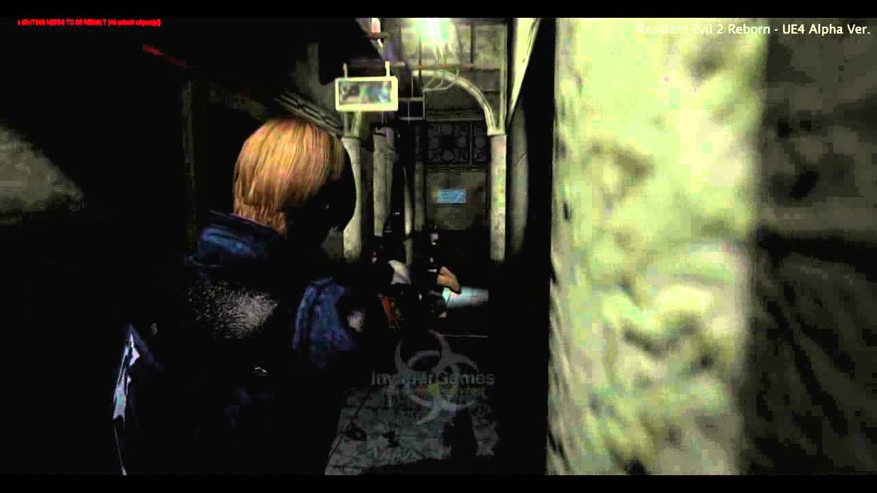 Resident Evil 2 Gives Nod to Fan Remake | Game Rant