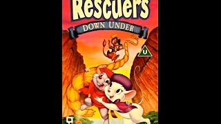 Digitized opening to The Rescuers Down Under (1997 UK VHS)