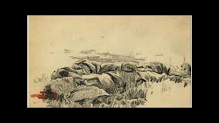 Вторая мировая война в рисунках 21-летнего солдата, сделанных в 1944 году