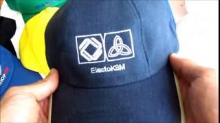 Смотреть видео нанесение логотипа на кепки