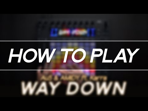 """How To Play: """"Au5 & AMIDY - Way Down"""" On Ableton Push 2"""