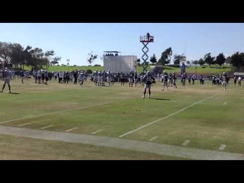 Kyle Orton Crushing Dallas Cowboys Blue and White Scrimmage 2012 Training Camp