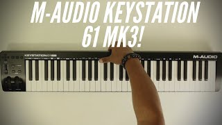 M-Audio Keystation 61 MK3 Review!(2019)