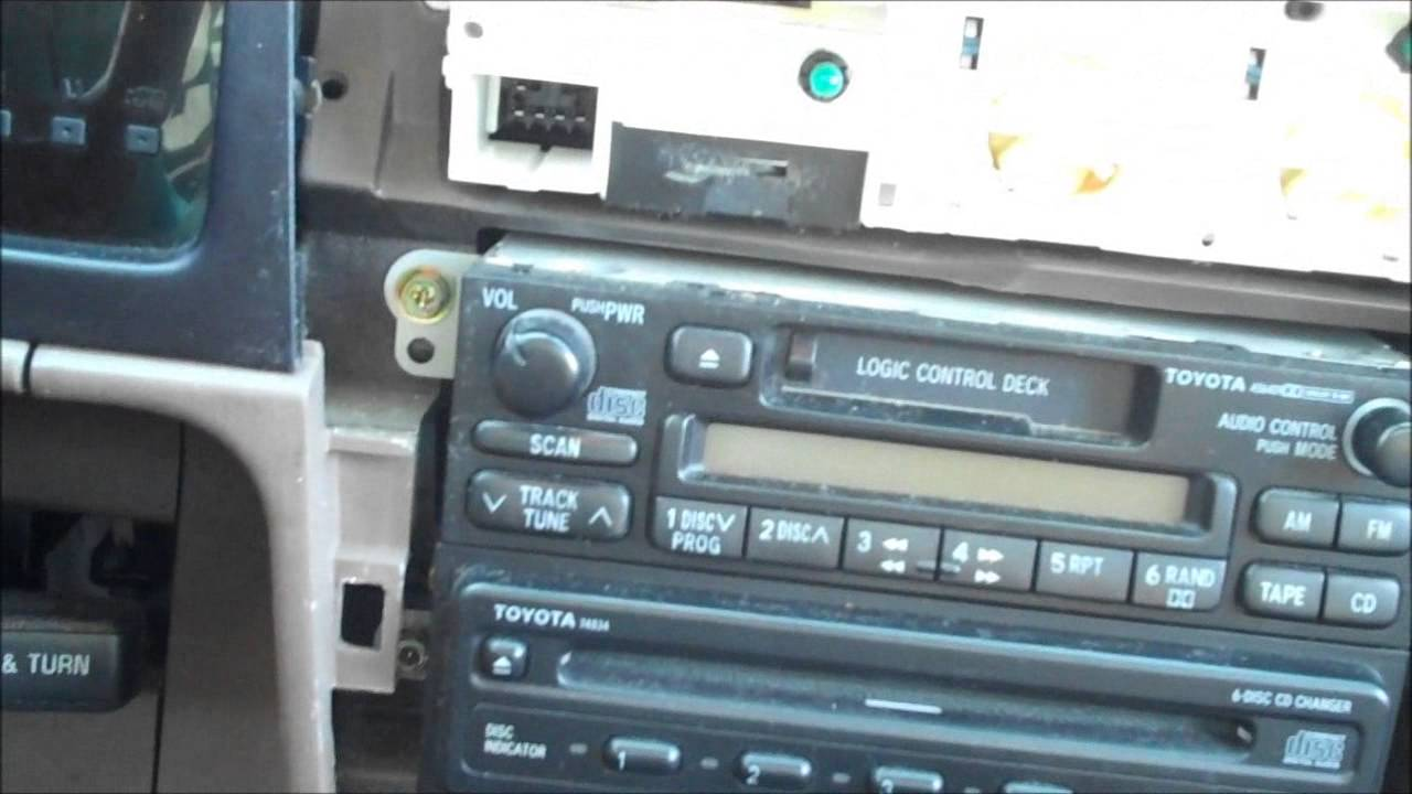 small resolution of 1999 toyota tacoma pioneer u310bt radio installation