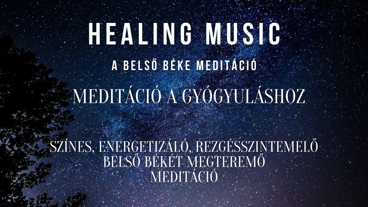 Energetizáló, rezgésszintemelő, belső békét megteremő vezetett meditáció 12 perc