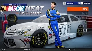 nascar heat evolution first look gameplay and career mode pc xbox one ps4