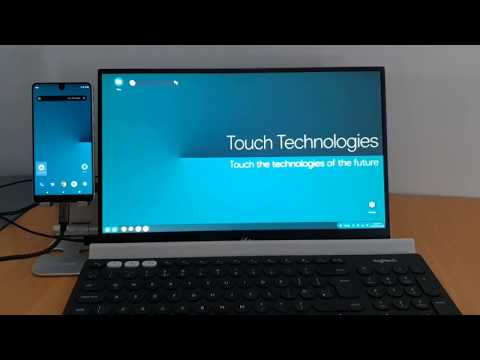 Android Q Desktop Preview - Touch Technologies