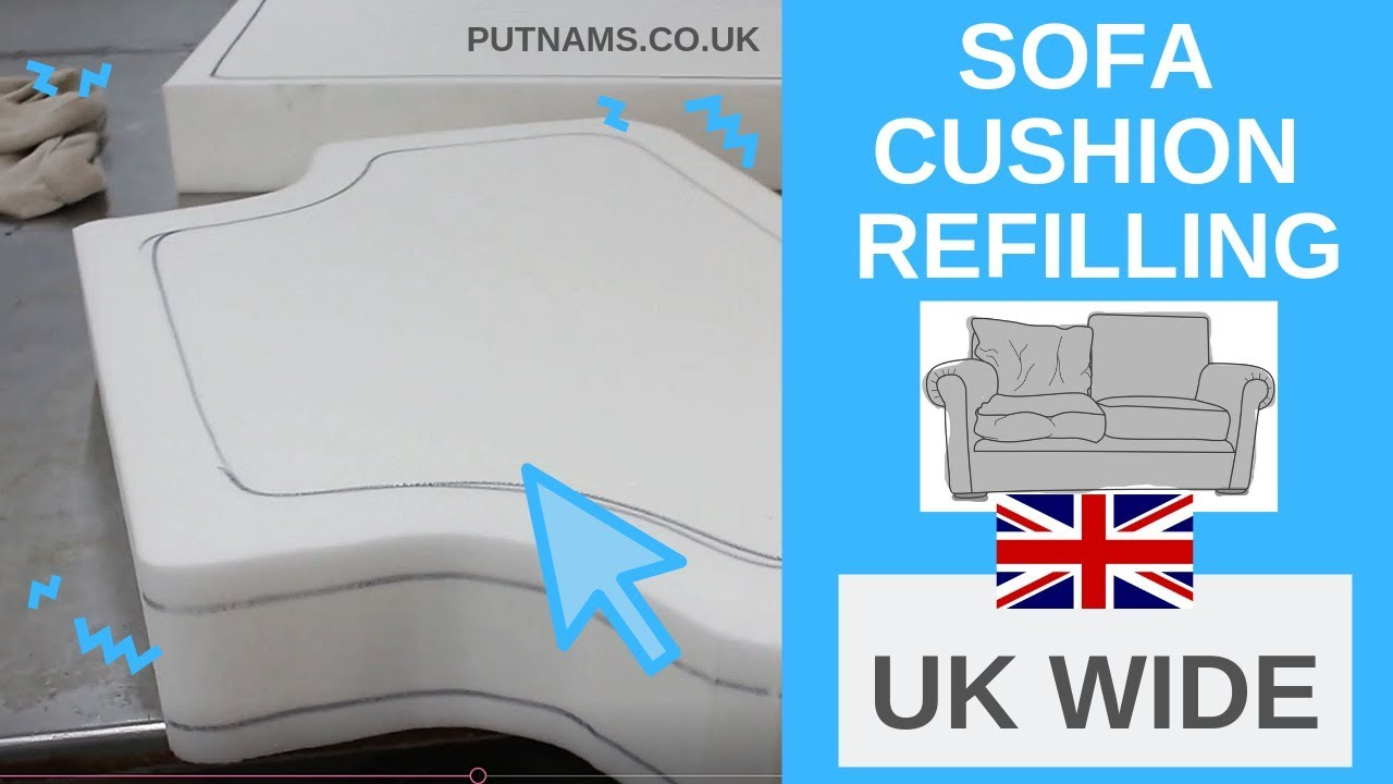 Sofa Cushion Replacement Refilling How