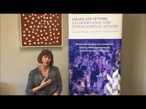 Dr Heather Rae School of Political Science and International Studies at University of Queensland