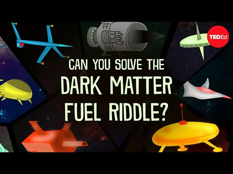 Video image: Can you solve the dark matter fuel riddle? - Daniel Finkel