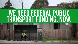 #StillWaiting for federal funding of public transport
