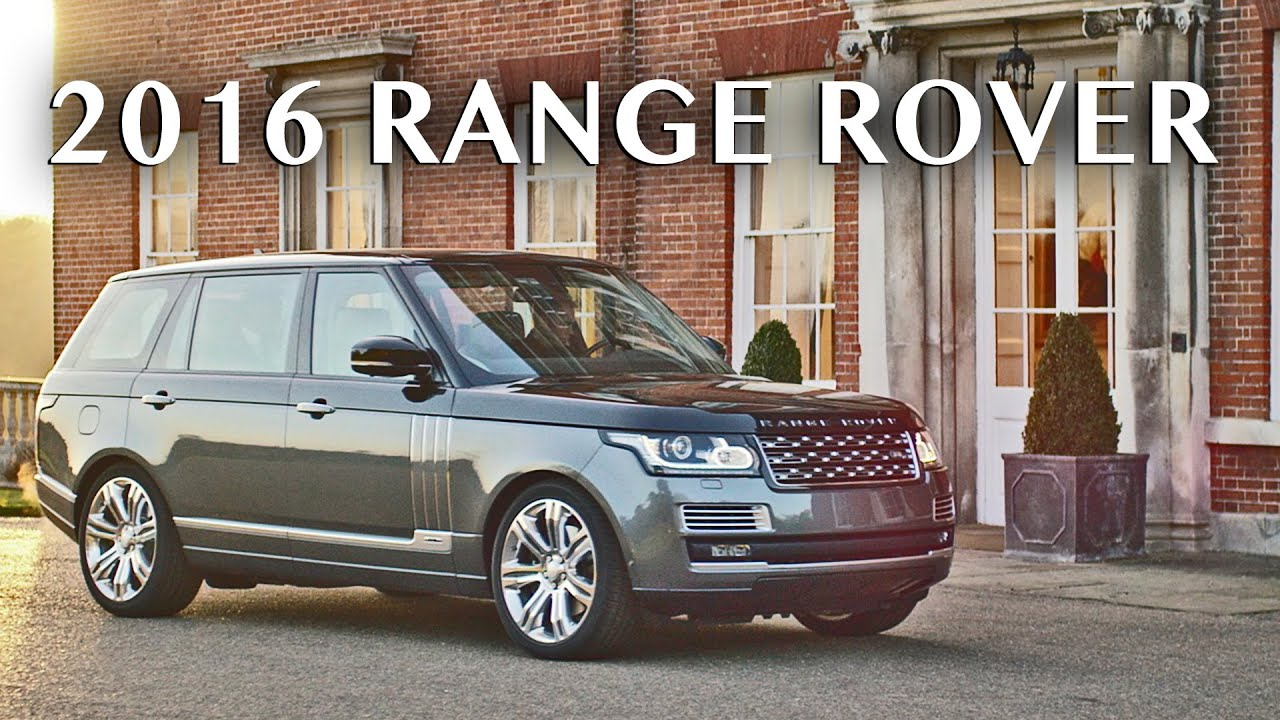 2016 Range Rover SVAutobiography - Official trailer - YouTube