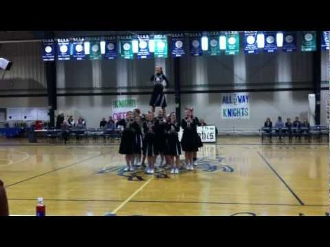 Bible Baptist Christian School Cheerleading State Championship