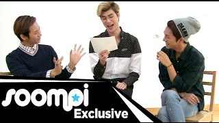 [Exclusive] Lunafly (루나플라이) Does Dramatic Reading of Pop Song, Talks of Fan's Bra, Peru, and More!