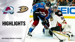 Colorado Avalanche vs Anaheim Ducks | Feb.21, 2020 | Game Highlights | NHL 2019/20 | Обзор матча