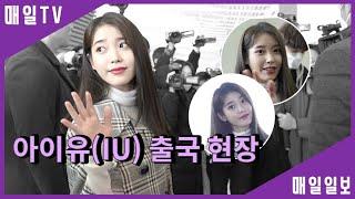 [매일TV] 아이유(IU, 이지은, Lee Ji Eun) 18일 출국