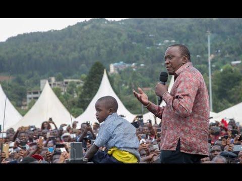 President Uhuru Kenyatta denies opposition claims that he has neglected the Kisii community