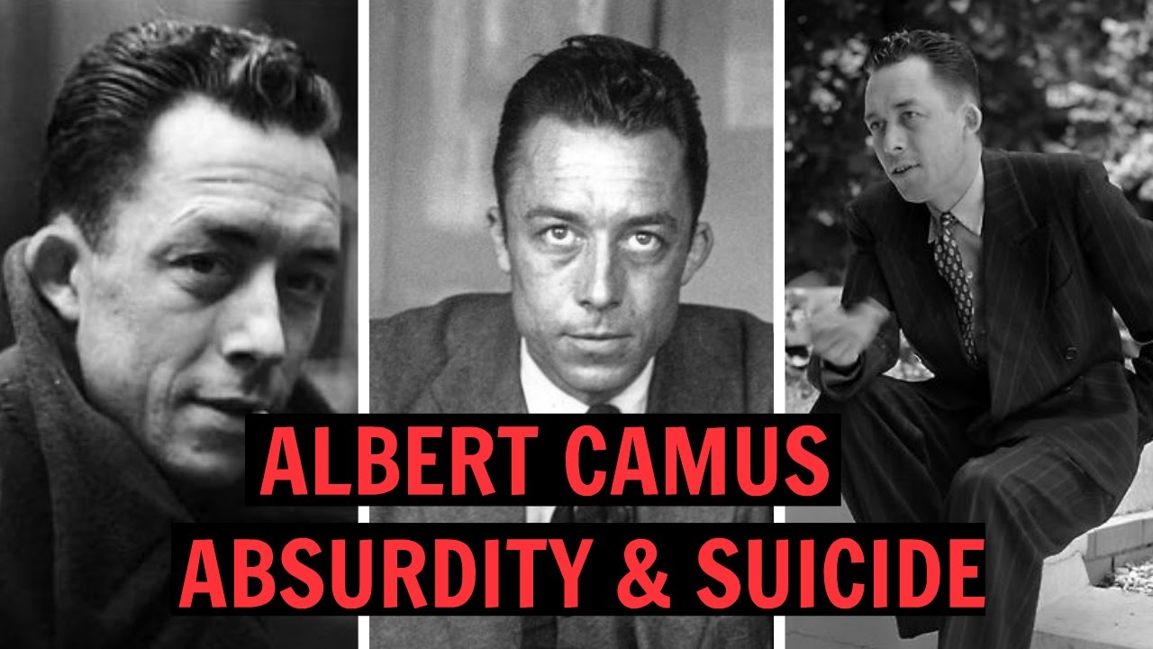 ALBERT CAMUS - ABSURDITY & SUICIDE - YouTube