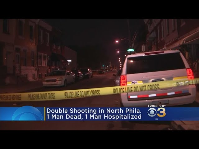 Double Shooting In North Philadelphia Leaves 1 Dead, 1