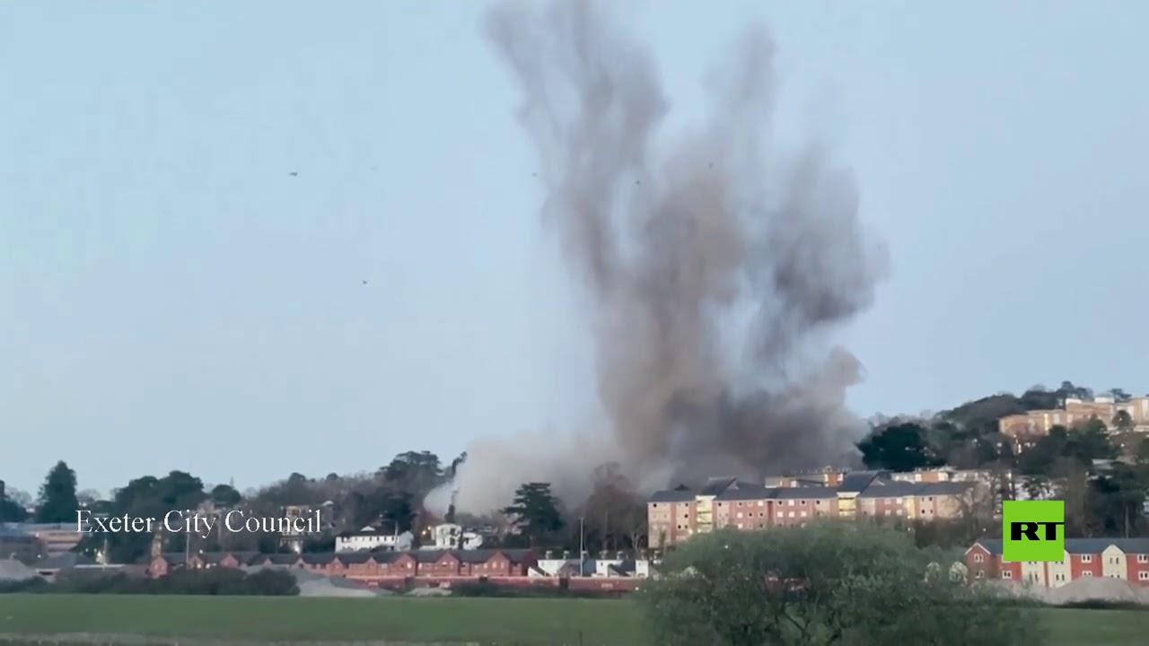تفجير قنبلة من مخلفات الحرب العالمية الثانية في مدينة إنجليزية  - نشر قبل 4 ساعة