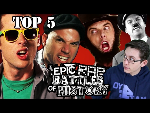 Top 5 Epic Rap Battles of History. Critical Analysis by Mat4yo