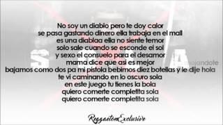 anuel aa sola letra reggaeton 2016