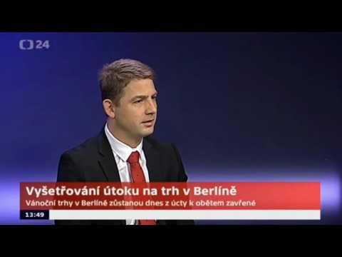Europoslanec Petr Mach o berlínském útoku a pokrytectví německých i českých politiků
