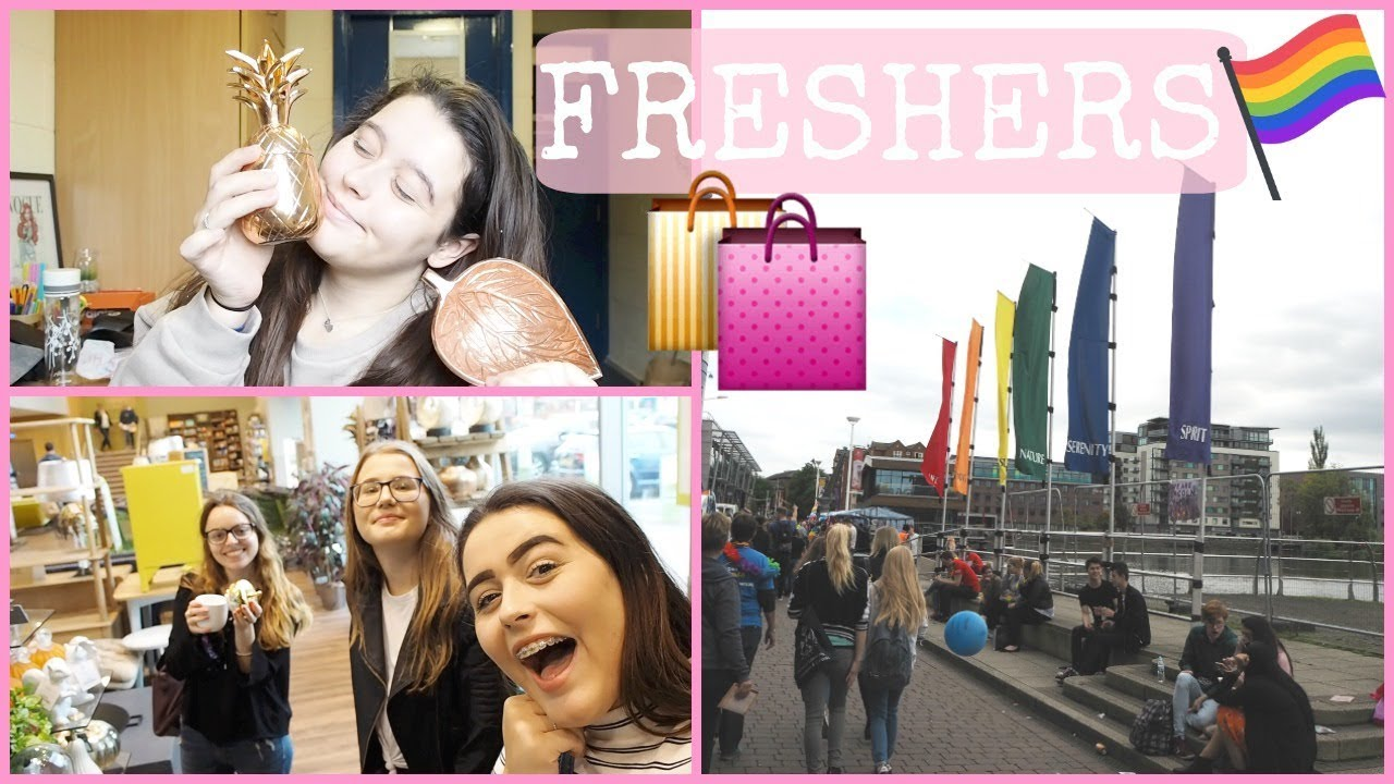 FRESHERS | Lincoln Cathedral, PRIDE & Lots of Shopping!