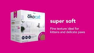 Super Soft Clumping Wood Cat Litter