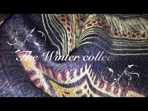 Pretty Little Scarves Winter Collection - What good quality fabric should look like.