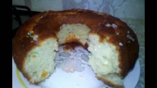 Творожный кулич(кекс) очень вкусный и простой