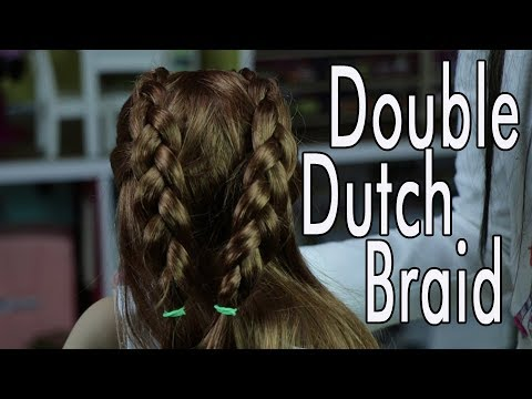 Making Double Dutch Braid for American Girl Doll