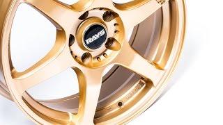 Alu kola RAYS model VRG2 Gold | AluaPneu.cz