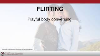"Loveology University – ""Flirting"" Course Sneak Preview!"