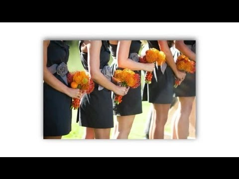 what-color-bridesmaid-dress-will-match-pink-&-orange-flowers?-:-ideas-for-brides