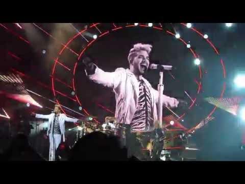 Queen + Adam Lambert, Radio gaga, Jellinge festival. Denmark, 2016