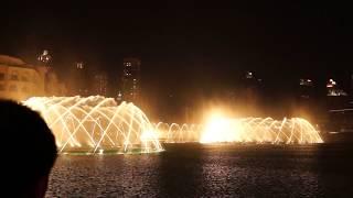 Dubai Musical Fountain 1
